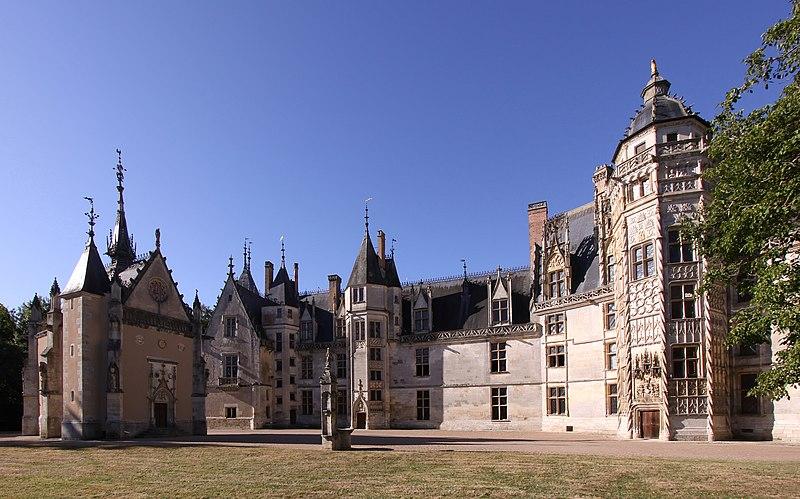 Photo du Monument Historique Château situé à Meillant