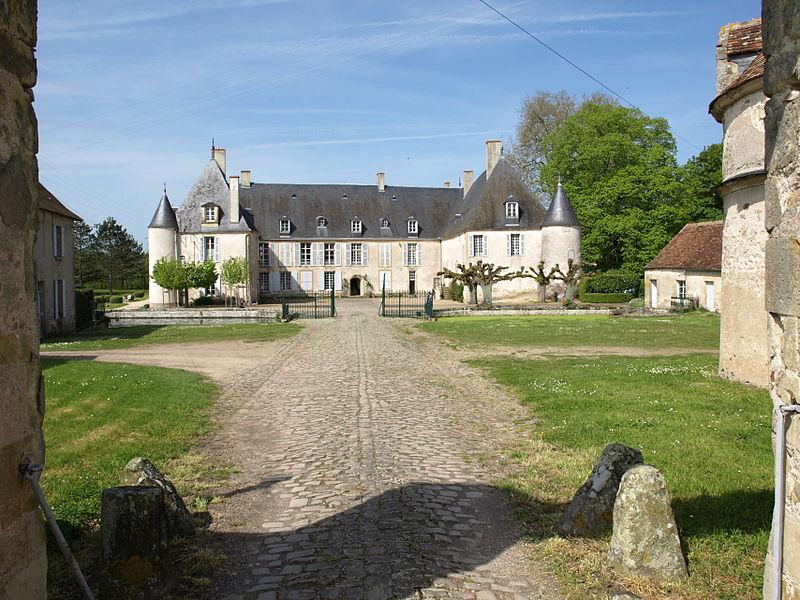 Photo du Monument Historique Château d'Autry situé à Méreau