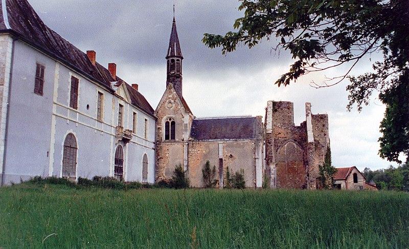 Photo du Monument Historique Ancienne abbaye de Loroy situé à Méry-ès-Bois