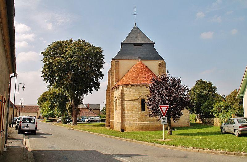 Photo du Monument Historique Eglise Saint-Sulpice situé à Mornay-Berry