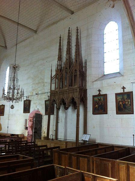 Photo du Monument Historique Eglise Saint-Symphorien situé à Morogues