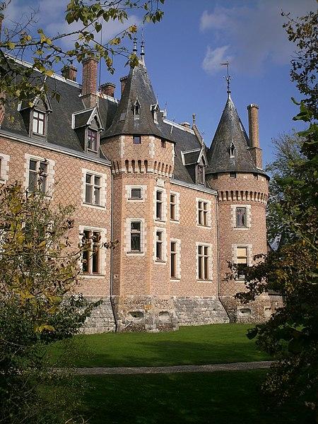 Photo du Monument Historique Château de Nancay situé à Nançay