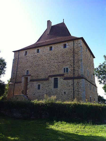 Photo du Monument Historique Ensemble castral de Vèvre, situé au lieudit La Tour situé à Neuvy-Deux-Clochers