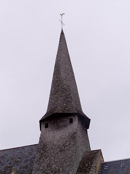 Photo du Monument Historique Eglise Saint-Martin situé à Nohant-en-Graçay