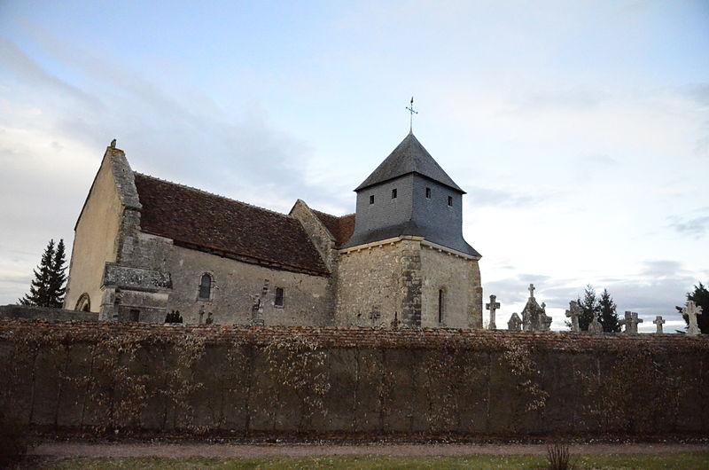 Photo du Monument Historique Eglise Saint-Paxent situé à Nozières