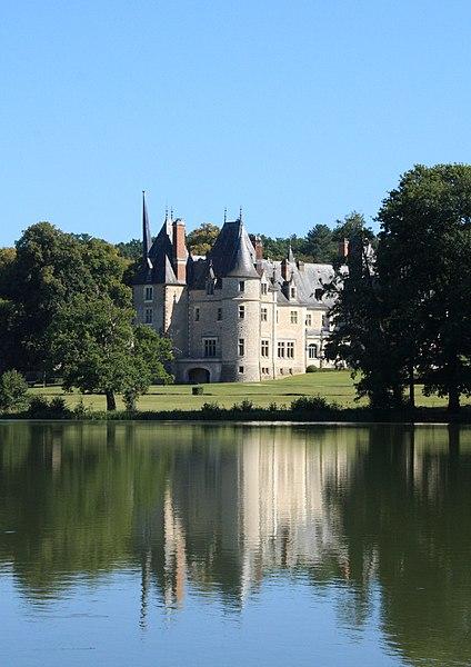 Photo du Monument Historique Château de la Verrerie situé à Oizon