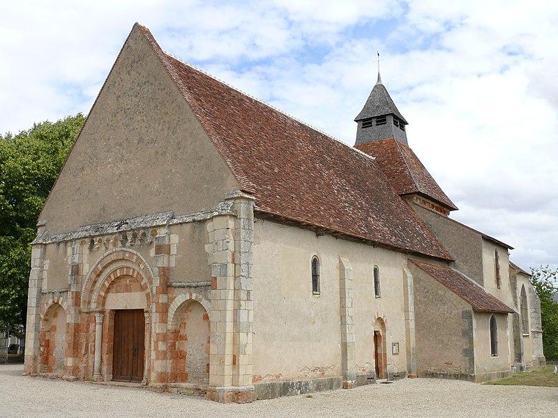 Photo du Monument Historique Eglise Saint-Julien situé à Osmery
