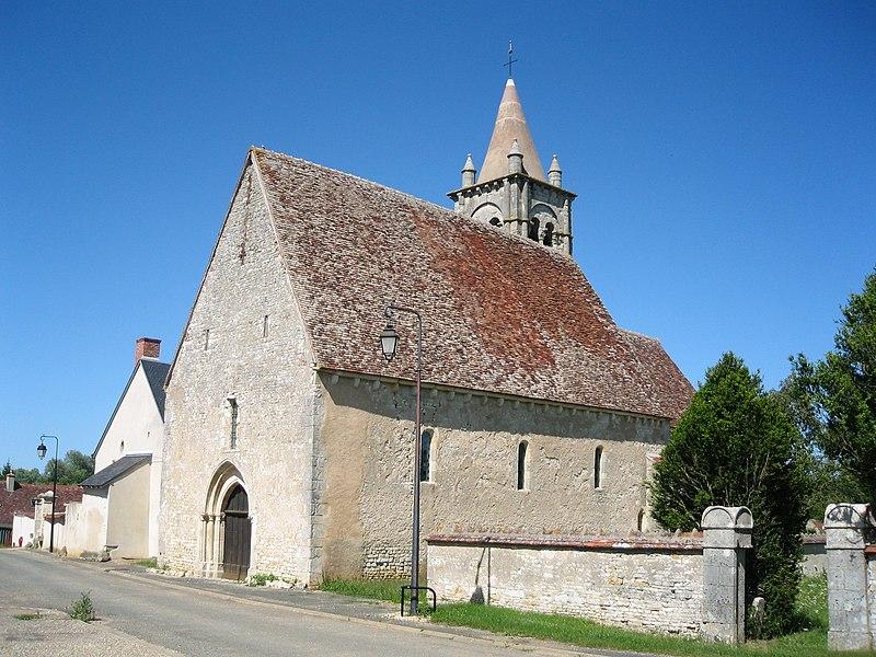 Photo du Monument Historique Eglise Saint-Laurent situé à Primelles