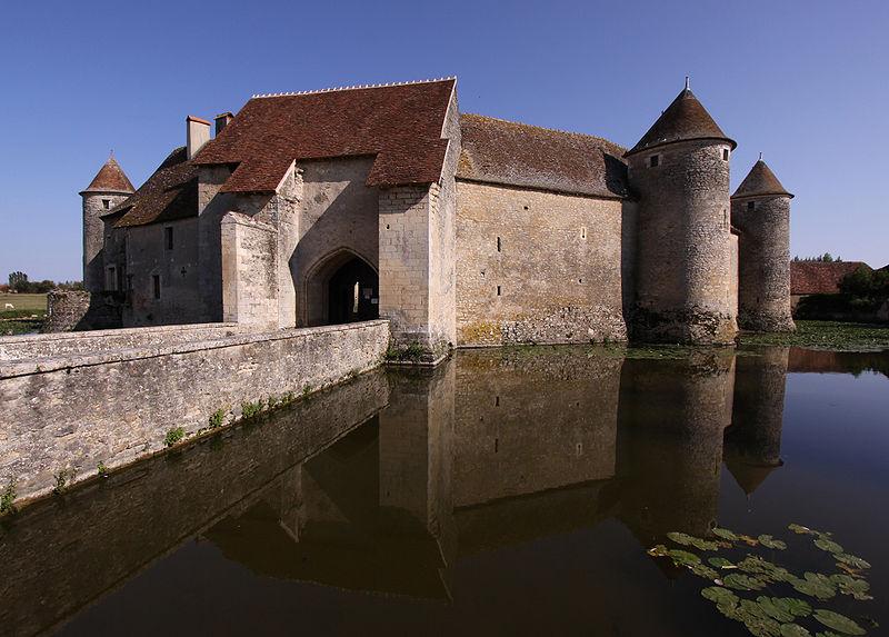 Photo du Monument Historique Ruines du château situé à Sagonne