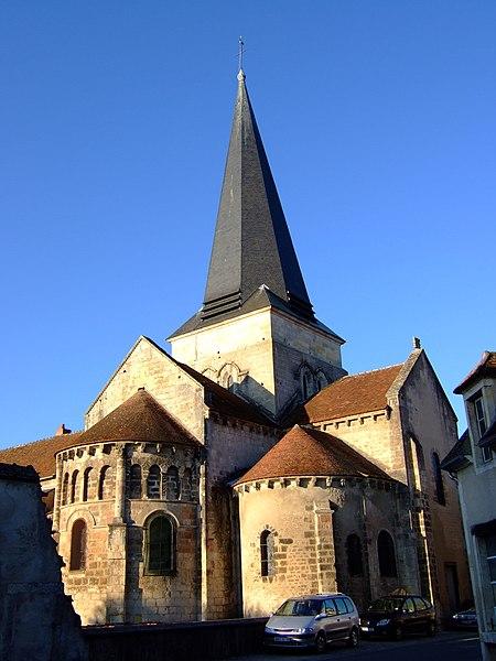 Photo du Monument Historique Eglise Saint-Amand situé à Saint-Amand-Montrond
