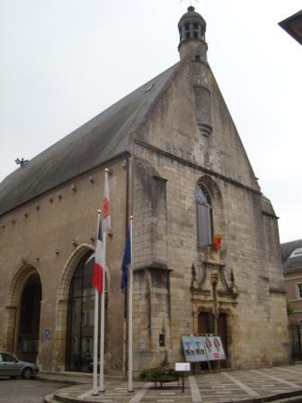 Photo du Monument Historique Ancienne église des Carmes situé à Saint-Amand-Montrond
