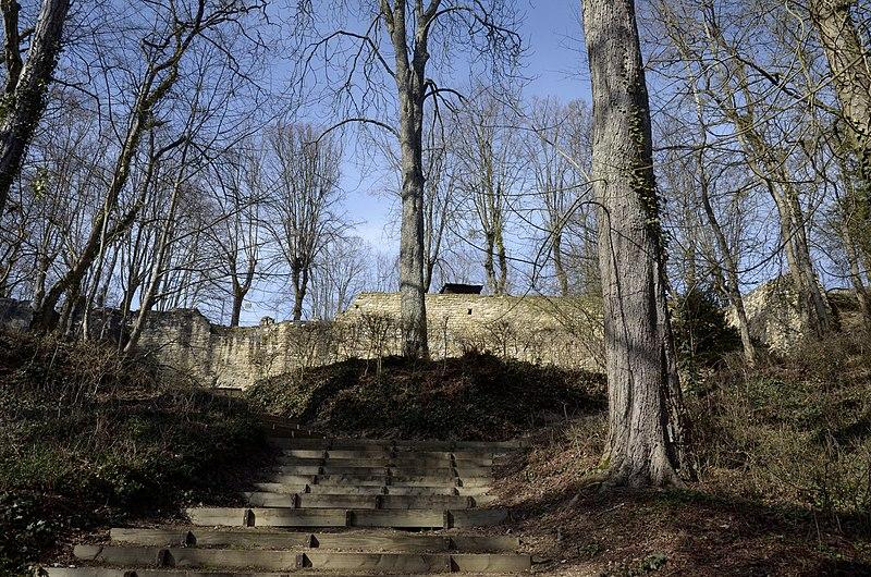 Photo du Monument Historique Ancienne forteresse de Montrond situé à Saint-Amand-Montrond