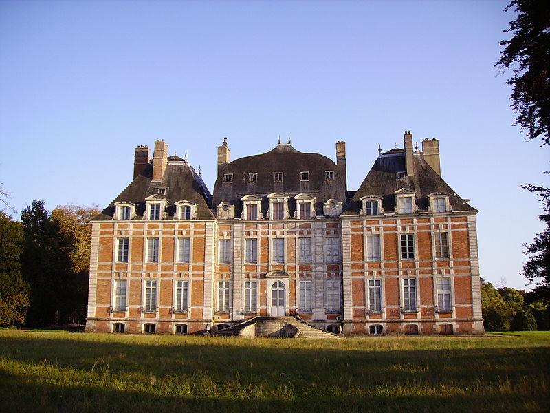 Photo du Monument Historique Château de Lagrange-Montalivet situé à Saint-Bouize