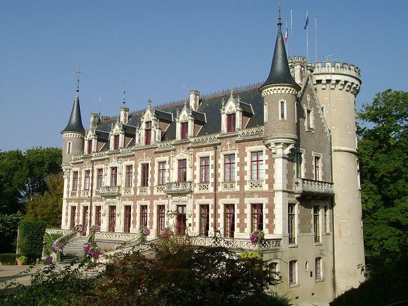 Photo du Monument Historique Château situé à Saint-Florent-sur-Cher