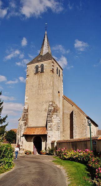 Photo du Monument Historique Eglise Sainte-Gemme situé à Sainte-Gemme-en-Sancerrois