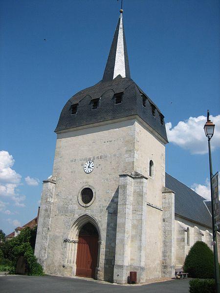 Photo du Monument Historique Eglise Saint-Hilaire situé à Saint-Hilaire-en-Lignières