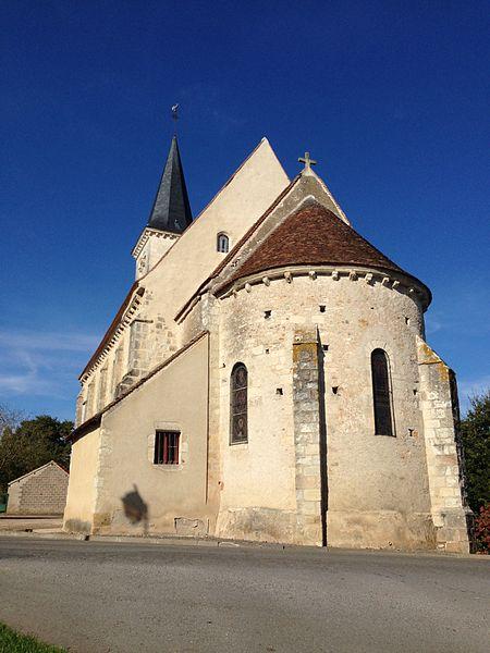 Photo du Monument Historique Eglise Saint-Pierre situé à Saint-Pierre-les-Bois