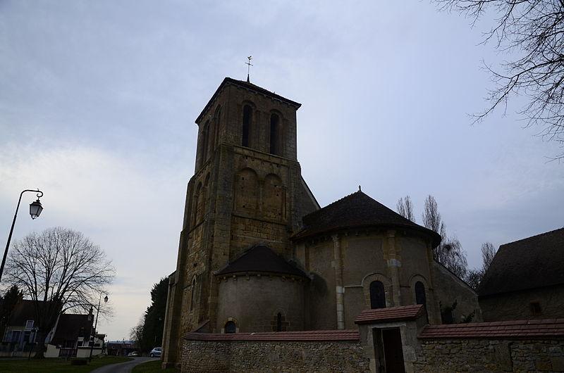 Photo du Monument Historique Eglise Saint-Pierre situé à Saint-Pierre-les-Etieux