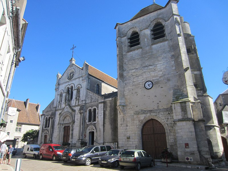Photo du Monument Historique Eglise Saint-Pierre ou Saint-Père-la-None situé à Sancerre