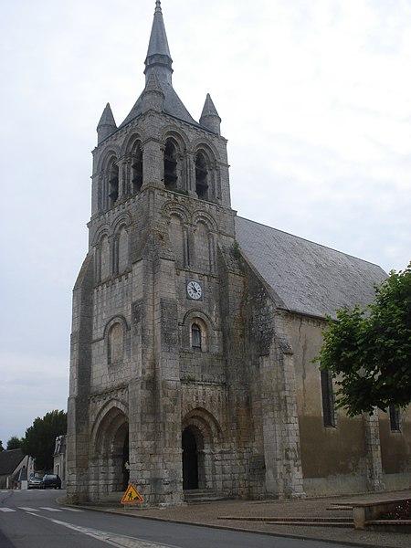 Photo du Monument Historique Eglise Sainte-Solange situé à Sainte-Solange