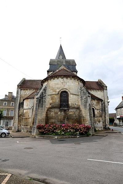 Photo du Monument Historique Eglise Saint-Jacques-et-Saint-Cyr situé à Sancergues