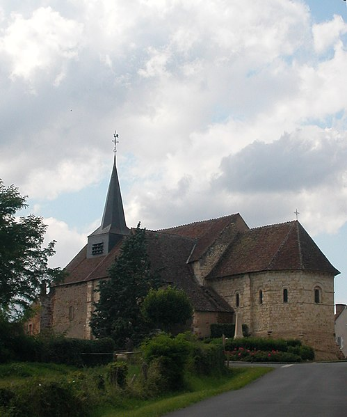 Photo du Monument Historique Eglise Notre-Dame situé à Santranges