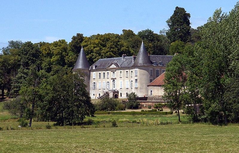 Photo du Monument Historique Château de Beaujeu situé à Sens-Beaujeu