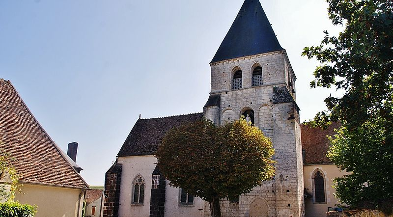 Photo du Monument Historique Eglise Saint-Etienne situé à Sury-en-Vaux