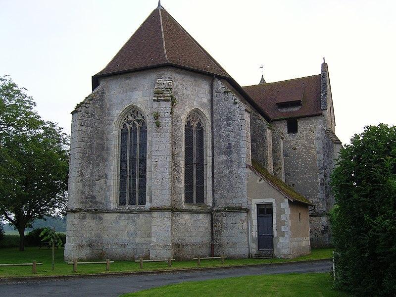 Photo du Monument Historique Eglise Saint-Jean-Baptiste situé à Sury-près-Léré