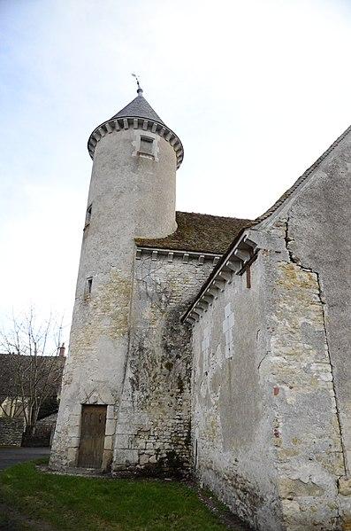 Photo du Monument Historique Château de Bigny situé à Vallenay