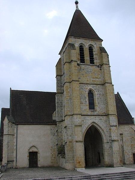 Photo du Monument Historique Eglise Notre-Dame situé à Vierzon
