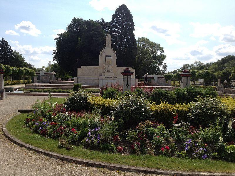 Photo du Monument Historique Jardin de l'Abbaye, dit aussi square Lucien Beaufrère situé à Vierzon