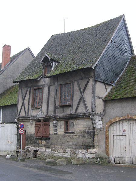 Photo du Monument Historique Maison situé à Vierzon
