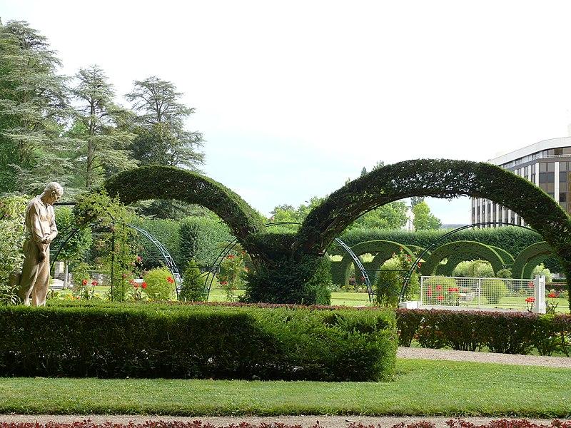 Photo du Monument Historique Jardin des Prés Fichaux situé à Bourges
