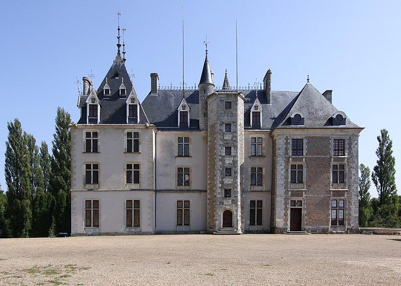 Photo du Monument Historique Château de Maupas situé à Morogues