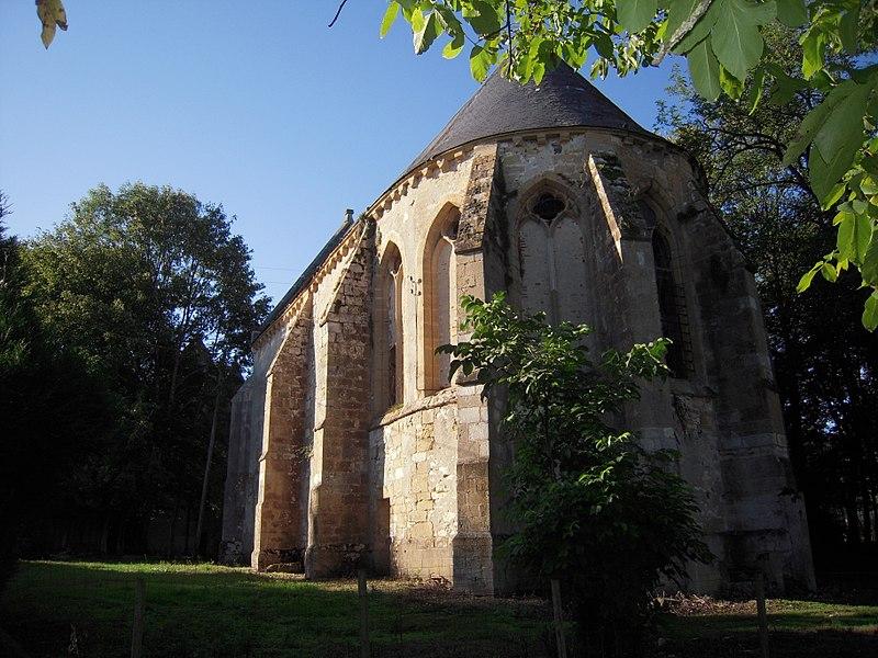Photo du Monument Historique Commanderie de templiers des Bordes situé à Jussy-le-Chaudrier