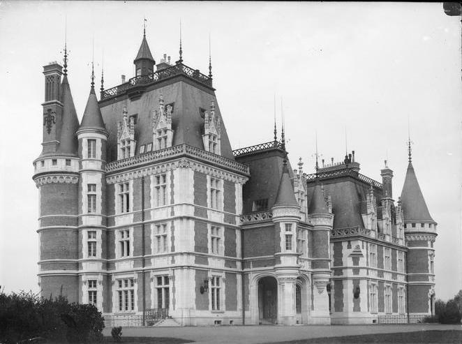 Photo du Monument Historique Ancien domaine de Vouzeron situé à Vouzeron