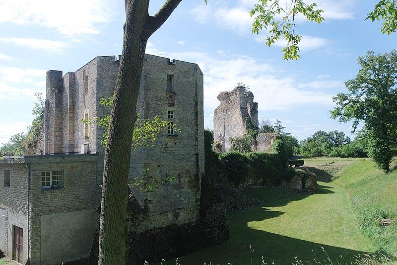 Photo du Monument Historique Ensemble castral situé à Cuffy