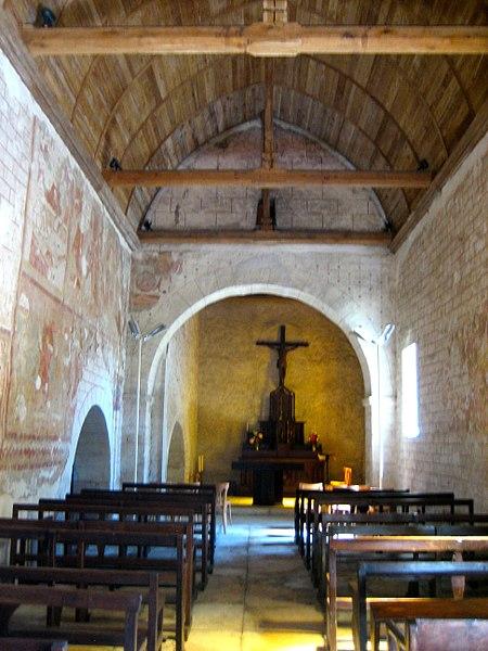 Photo du Monument Historique Eglise du prieuré Saint-Germain de La Celle situé à Celle-Condé (La)