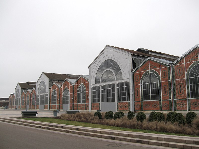 Photo du Monument Historique Ateliers Célestin Gérard, devenus Société française de matériel agricole et industriel, puis usine Case situé à Vierzon