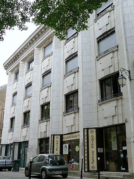 Photo du Monument Historique Immeuble de l'entreprise Leiseing situé à Bourges
