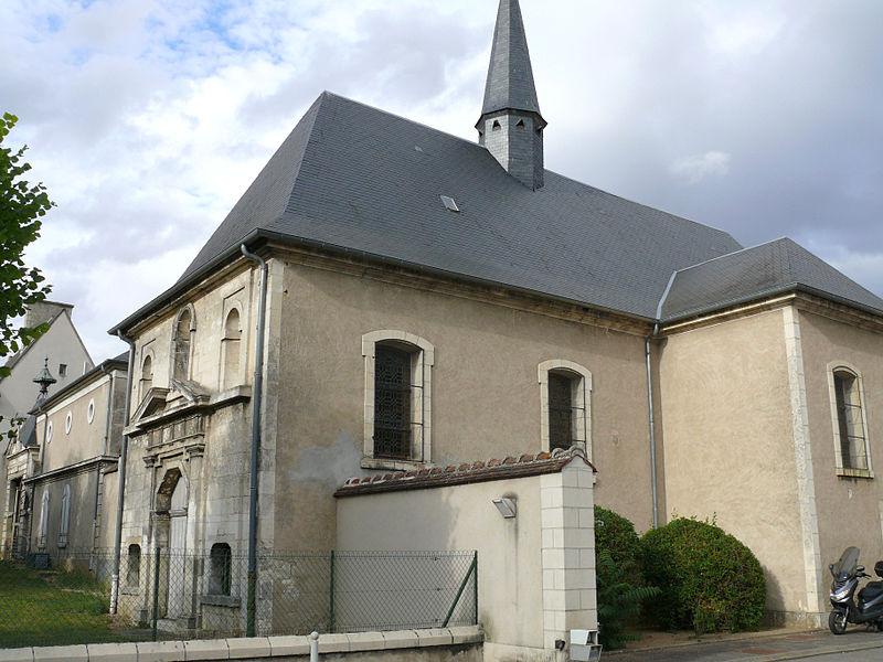 Photo du Monument Historique Hôpital général situé à Bourges