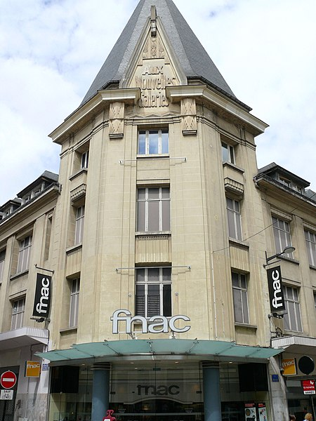 Photo du Monument Historique Ancien grand magasin Aux Nouvelles Galeries situé à Bourges