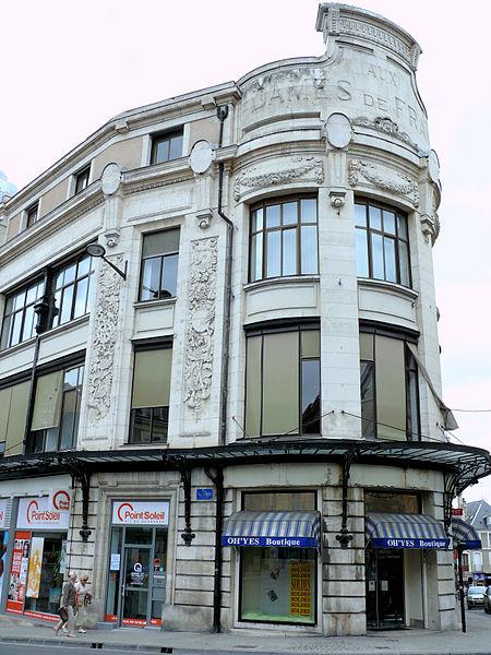"""Photo du Monument Historique Ancien grand magasin """"Aux Dames de France"""" situé à Bourges"""