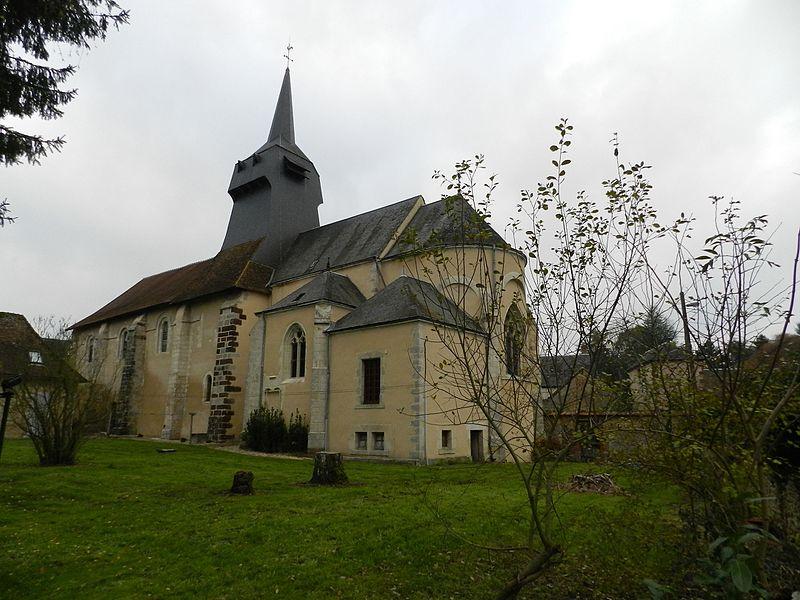 Photo du Monument Historique Eglise paroissiale Saint-Pierre situé à Concressault