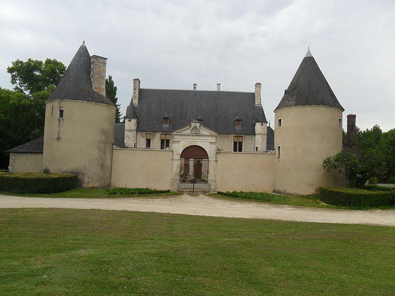 Photo du Monument Historique Château de Chappe situé à Bourges