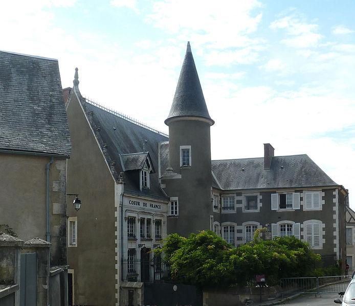 """Photo du Monument Historique Maison dite """" maison Clément """" situé à Sancerre"""