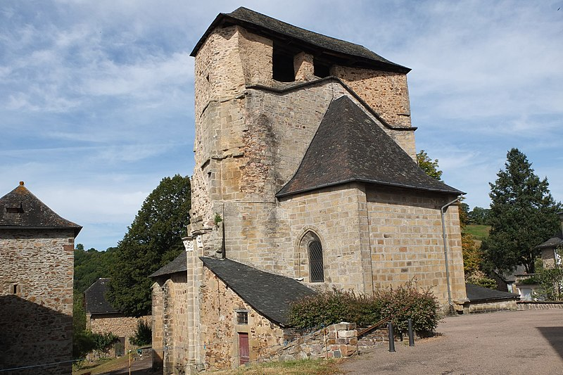 Photo du Monument Historique Eglise Notre-Dame situé à Albignac