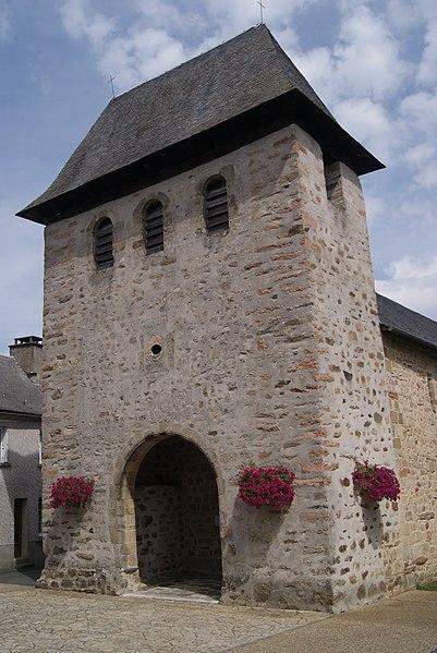 Photo du Monument Historique Eglise Saint-Martin situé à Albussac
