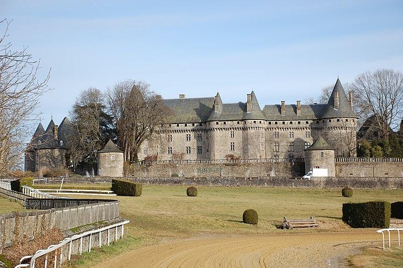 Photo du Monument Historique Haras national de Pompadour situé à Arnac-Pompadour